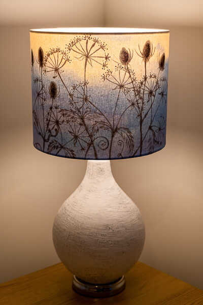 Bespoke lampshade design example