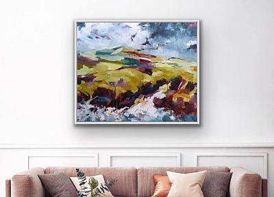 Artwork showing wild Nature By Bron Jones