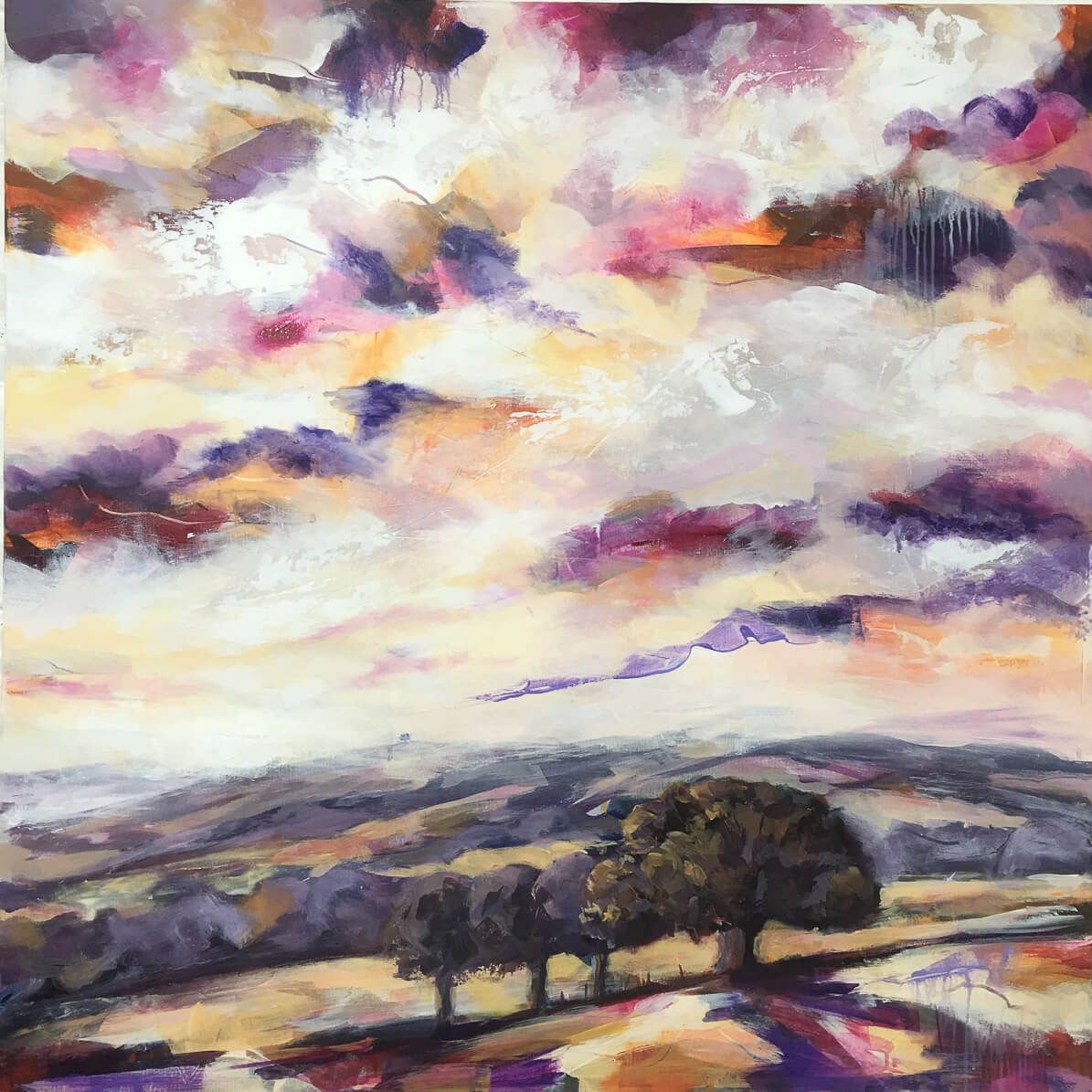 Commisioned landscape by Bron Jones
